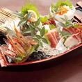 ◆ お刺身盛り合わせ 魚 も売りの一つです。