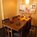 テーブル席は6名様対応可能