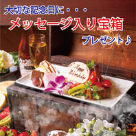 【誕生日・記念日】各種お祝い事にサプライズ!