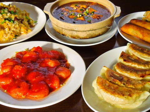 メニューが豊富!飲み放題や食べ放題もあり美味しい中華料理が食べられるお店。