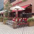 本場南イタリアの味を堪能♪恵比寿ガーデンプレイスの広場に面したリストランテです。