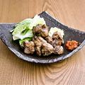 料理メニュー写真大山鶏の炭炙り