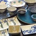 沖縄ではお皿のことを『やちむん』と呼びます♪もちろん花丁字の『やちむん』は全て沖縄産