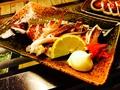 料理メニュー写真サンマの塩焼/丸干しイカ