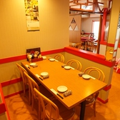 【2階/~6名席】テーブル