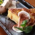 デザートにもこだわっております。季節野菜のブリュレ・ベイクドチーズケーキなどおすすめです♪
