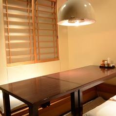 【3~6名様用の個室】接待やお仕事帰りのご宴会にもご利用頂けます。