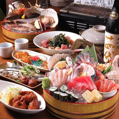 北海道えりも漁港産直の魚介&北海道食材