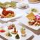 料理人が心を込めて作る逸品料理の数々。イタリアンとCHINAの2ジャンルを専門シェフが腕を振るってご用意いたします