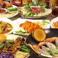本場中華料理をお手ごろ価格で豊富に準備◎