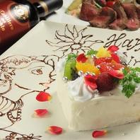 パティシエ特製メッセージ花火付きケーキでサプライズ