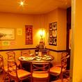 【円卓で顔を合わせられるのも中華の楽しみ■半個室で】※半個室席は、お一人様3,240円以上のご注文の方に限ります。