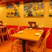 【2階/~4名席】テーブル
