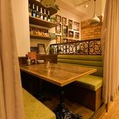 カーテンにより半個室可。最大6名様可能のソファーテーブル席。カップルでのご利用はもちろん、女子会や少人数でもご宴会にも◎各種ご宴会での誕生日や記念日のお祝いに大人気の席です♪