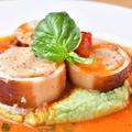 料理メニュー写真イカの詰め物のソテー