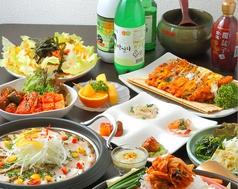 韓国四季料理 MARUの写真