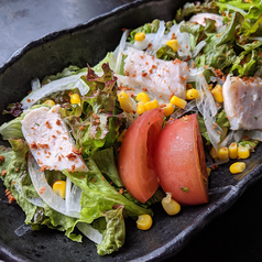 花たぬきサラダ