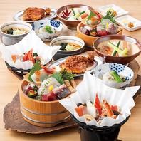 旬の味覚満載♪宴会コース料理を個々盛りでご用意★