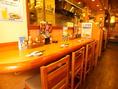 カウンター席はしっとり飲むのにおすすめ♪[豪徳寺/飲み放題/焼き鳥/ビール/座敷/宴会/飲み会/女子会/デート]