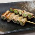 豊富な「串焼き」は全50種類以上!美味しいのににリーズナブルな価格が大好評!