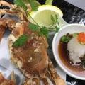 料理メニュー写真ソフト渡り蟹の丸ごと揚げ