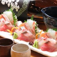 旬な食材や広島名物をたくさんご提供しています。