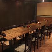 12名様OKのテーブル個室。