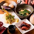 料理メニュー写真一段上の大人の小料理コース~季節により料理内容が替わります~