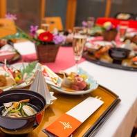【地産地消】にこだわり北海道食材を中心とした会席料理
