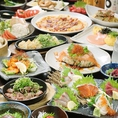 人気は食べ飲み放題コース♪エンドレスや3時間制、2時間制、女子会限定など多数取り揃えております。