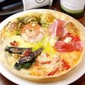 料理メニュー写真銚子産いわしのPizza