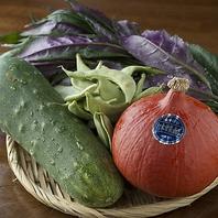 加賀野菜として認定されたこだわりの野菜も自慢