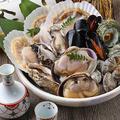 料理メニュー写真新鮮魚介 貝鍋
