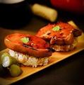 料理メニュー写真フォアグラ寿司 1貫