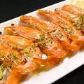料理メニュー写真海老の丸揚げ 南イタリア風