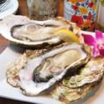 ぷりっぷりの大牡蠣がお楽しみ頂けます!あつい夏場は焼き牡蠣をご提供致します◎
