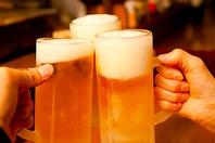 ルパ名物!毎週金曜日生ビール何杯でも半額!