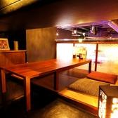 2名~4名様までの個室席☆個室は全て禁煙席となっておりますので、おタバコが苦手な方、お子様がいらっしゃる方にはぴったりのお席です。大変人気のお席となっておりますので、事前のご予約をおすすめします!