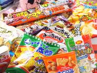 500円でエンドレス駄菓子食べ放題