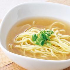 料理メニュー写真中華麺