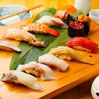 毎日仕入れる旬の魚を使っているので、ネタは鮮度抜群。