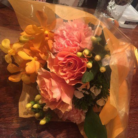 【歓送迎会にピッタリ】当店では10名様以上のコースご予約で主役の方に花束プレゼント♪会社の送別会や歓迎にもご利用頂けます。ご希望の方は事前にご連絡下さい♪