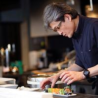 ニューヨークで30年培った技術を活かした創作料理