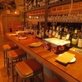 ◆豊富なワイン◆様々な種類のワインをご用意しております。大人気の生ハムてんこ盛りとご一緒にあれこれ飲み比べ♪