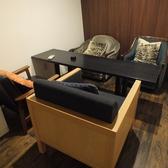 2階:4名様の個室です。プライベート感のあるお洒落な個室を多数をご用意しています。