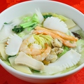 料理メニュー写真【おすすめ4】海の幸汁そば