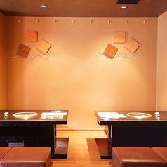 【3F/掘りごたつ席】落ち着いた清潔感溢れる空間♪デートや女子会にもオススメです。