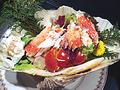料理メニュー写真蟹サラダ (約2人前)