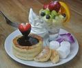 料理メニュー写真【器がフレンチトースト】チョコレートフォンデュフレンチトースト