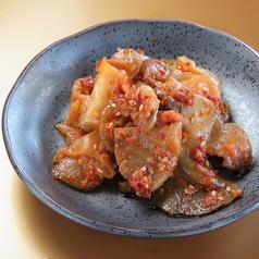 料理メニュー写真ザーサイの特製辣油和え